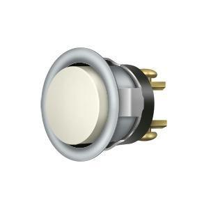 Deltana - Replacement Bell Button Mechanism - Brushed Chrome