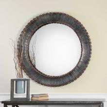 Tanaina Round Mirror