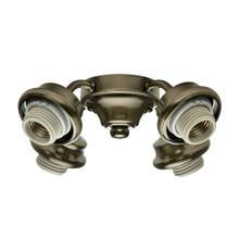 Four-Light Antique Brass Fitter - 99032 - Antique Brass