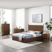 See Details - Kali 5-Piece Bedroom Set in Walnut