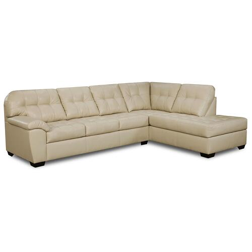 Gallery - 9568 Two Piece Sectional with Sleeper