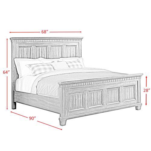 Elements - Morrison Queen Panel Bed