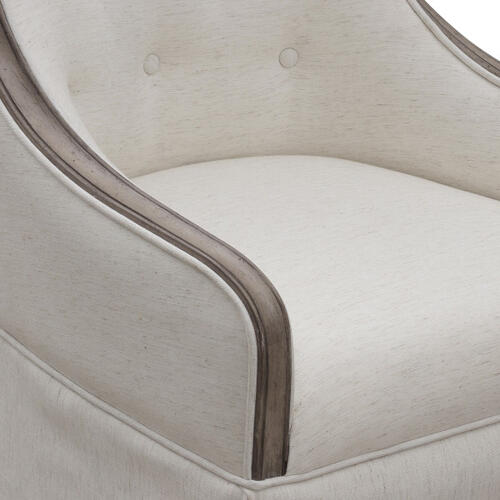 Ella Host Chair in Gray