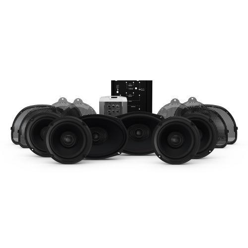 Rockford Fosgate - 2014+ Harley-Davidson® Road Glide® CVO® & Street Glide® CVO 6 Speaker & Amp Kit