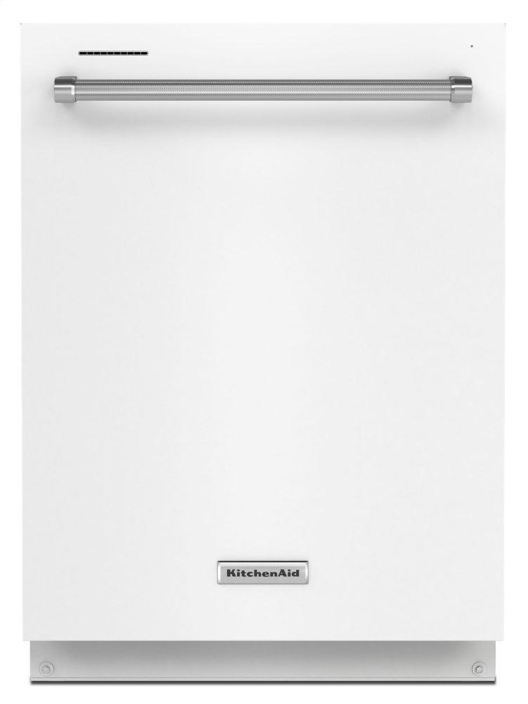 KitchenAid39 Dba Dishwasher With Third Level Utensil Rack - White