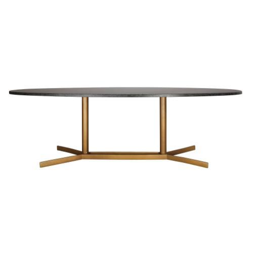 Gemma Black Marble Coffee Table