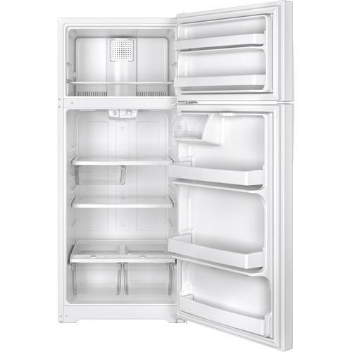 Crosley - Crosley Top Mount Refrigerator - Black