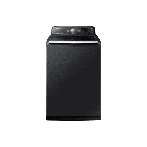 5.8 cu.ft. High Efficient Top Load Washer with SmartCare in Black Stainless Steel