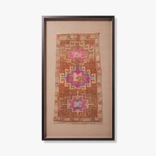 0351760008 Vintage Turkish Rug Wall Art