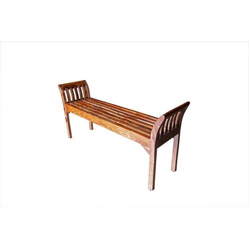 See Details - Sheesham Accents Harvest Bench, ART-2680-HRU