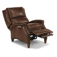 Benny Leather Power High-Leg Recliner with Power Headrest