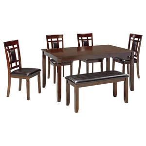Ashley FurnitureSIGNATURE DESIGN BY ASHLEYBennox Dining Room Table and Chairs With Bench (set of 6)