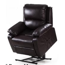 View Product - Brown Leather Recliner