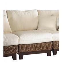 Sanibel Armless Chair with cushion