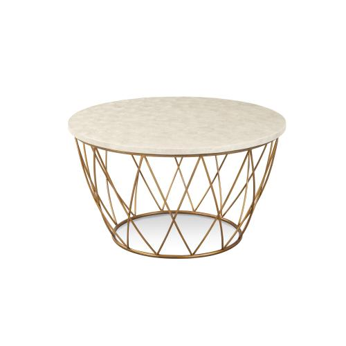 Bassett Mirror Company - Mikel Round Cocktail Table