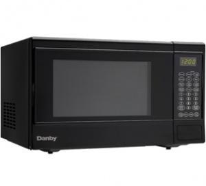 Danby 1.4 cu. ft. Black Sensor Countertop Microwave
