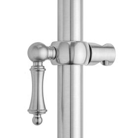 Satin Nickel - Ball Lever Grab Bar Handshower Slider