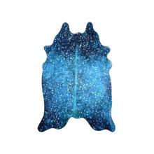 See Details - Metallic Vegan Hides - Metallic Blue