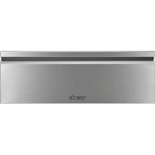 "30"" Flush Warming Drawer, Silver Stainless Steel"