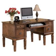 Hamlyn Home Office Storage Leg Desk Medium Brown