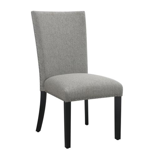 Emerald Home Durell D742-20-03 Upholstered Dining Chair Gray Jsy-3739-4