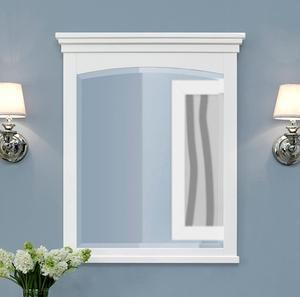 "Shaker Americana 28"" Mirror - Polar White Product Image"