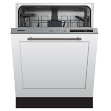 Tall Tub dishwasher 5 cycles top control full integrated panel overlay 48 dBA