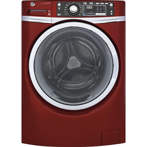 GE Appliances - GE® 4.9 DOE cu. ft. Capacity Front Load ENERGY STAR® Washer with Steam