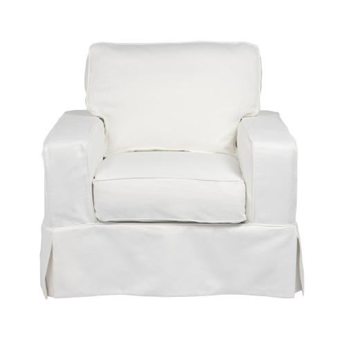 Americana Slipcovered Chair - Color: 391081