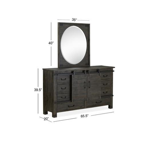 Magnussen Home - Sliding Door Dresser