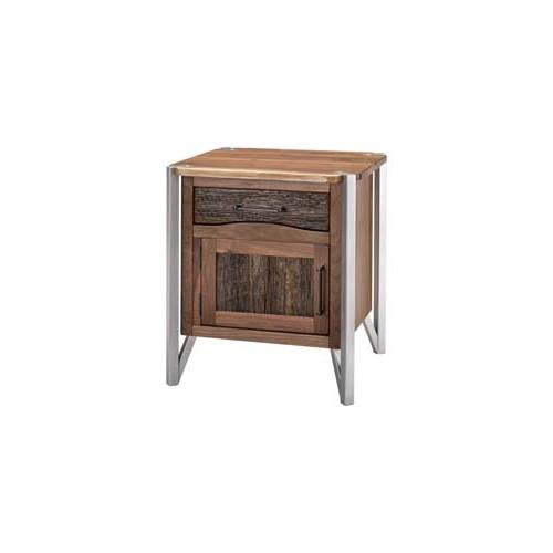 Hampshire 1 Door 1 Drawer Nightstand-hinged Right