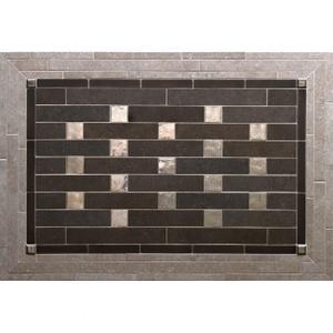 Pixels - Backsplash Silicon Bronze Brushed Product Image