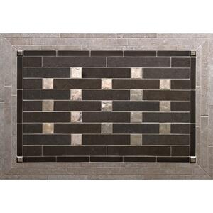 Pixels - Backsplash Silicon Bronze Brushed Product Image