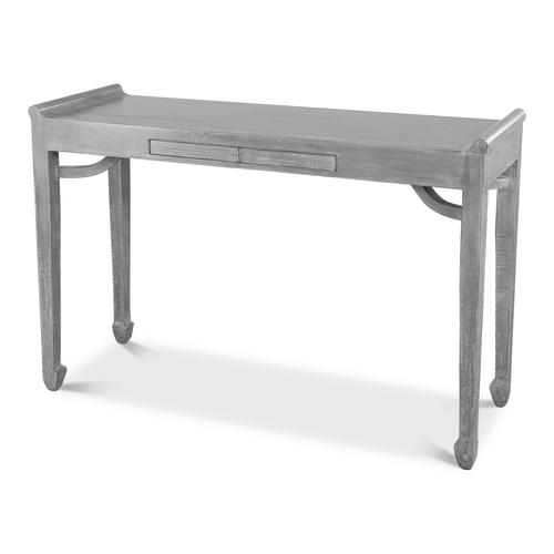 Console Table W/Two Push Drawers