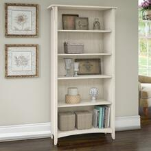 Salinas Tall 5 Shelf Bookcase - Antique White