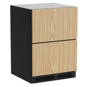 24-In Built-In Refrigerated Drawers with Door Style - Panel Ready