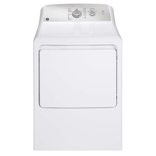 GE 7.2 cu.ft. Top Load Gas Dryer with SaniFresh Cycle White - GTD40GBMRWS