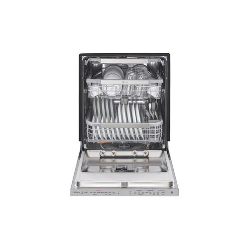 LG - Top Control Dishwasher with Quadwash™ and TrueSteam®
