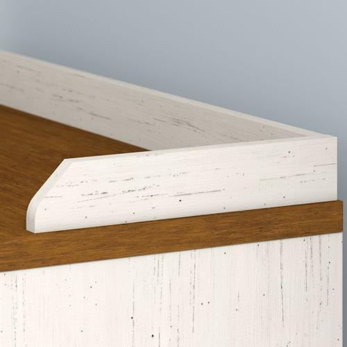 Fairview Shoe Storage Bench - Antique White