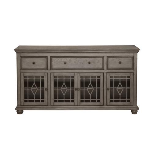 Four Door Cabinet in Ash Grey