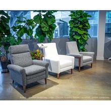 See Details - Vida Elegant Recliner Chair - American Leather