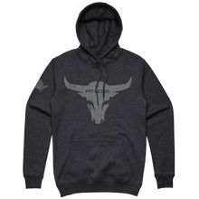 Men's Charcoal Heather Bull Hoody