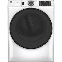 GE® 7.8 cu. ft. Capacity Dryer with Built-In Wifi White - GFD55ESMNWW