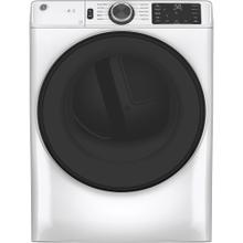 See Details - GE® 7.8 cu. ft. Capacity Dryer with Built-In Wifi White - GFD55ESMNWW