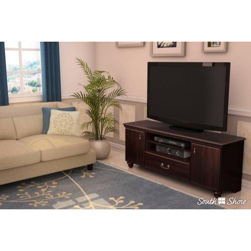 TV Stand for TVs up to 65'' - Dark Mahogany