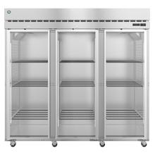 See Details - R3A-FG, Refrigerator, Three Section Upright, Full Glass Doors with Lock
