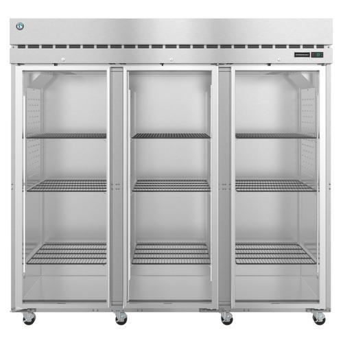 Hoshizaki - R3A-FG, Refrigerator, Three Section Upright, Full Glass Doors with Lock