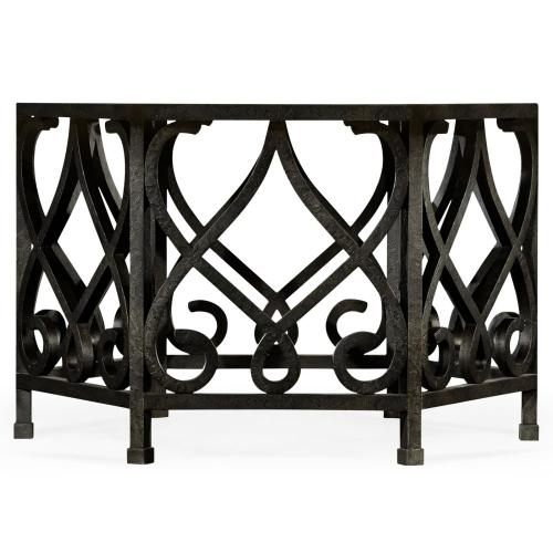 Wrought Iron Base of Dining Table 495198