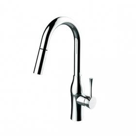 K2 Monoblock lavatory/bar/prep sink faucet - Polished Chrome