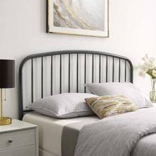Nova Queen Metal Headboard in Gray